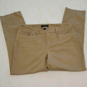 Ralph Lauren Petite khaki ankle pants, size 6P